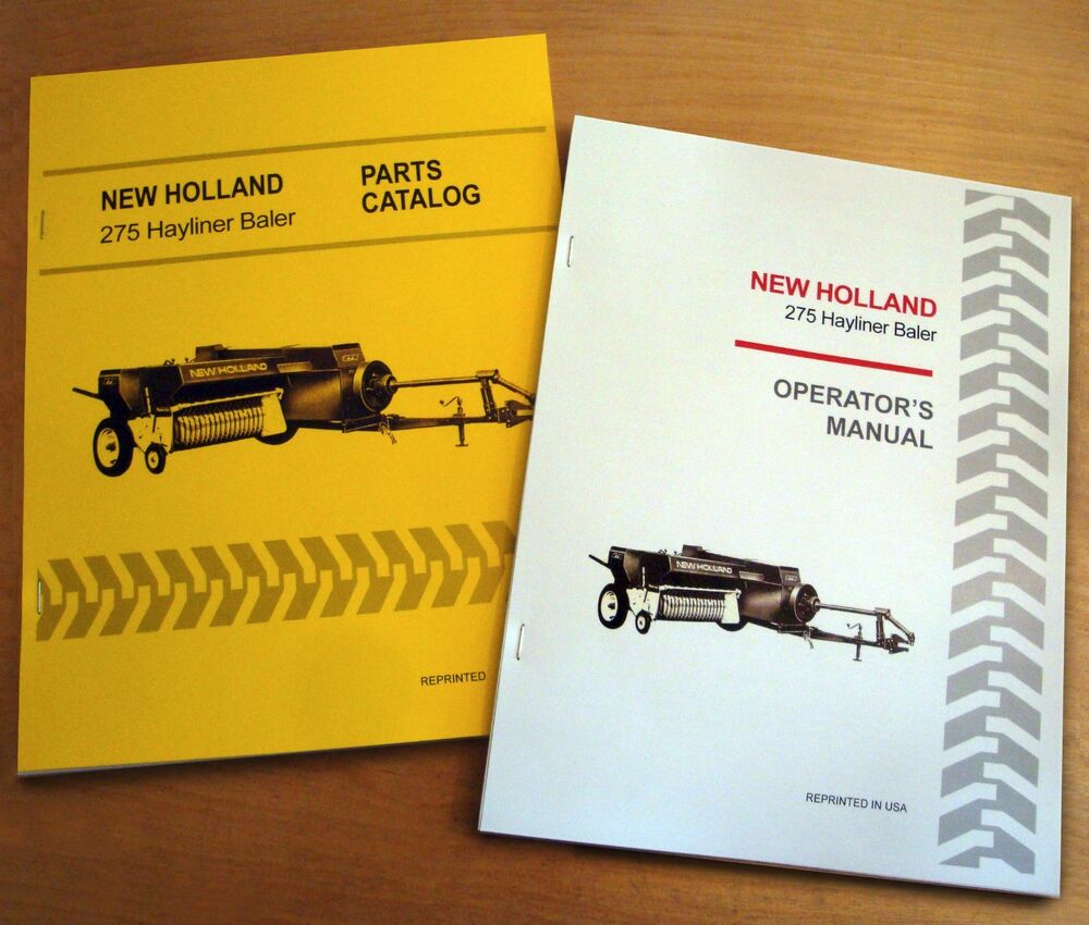 new holland 273 baler owners manual