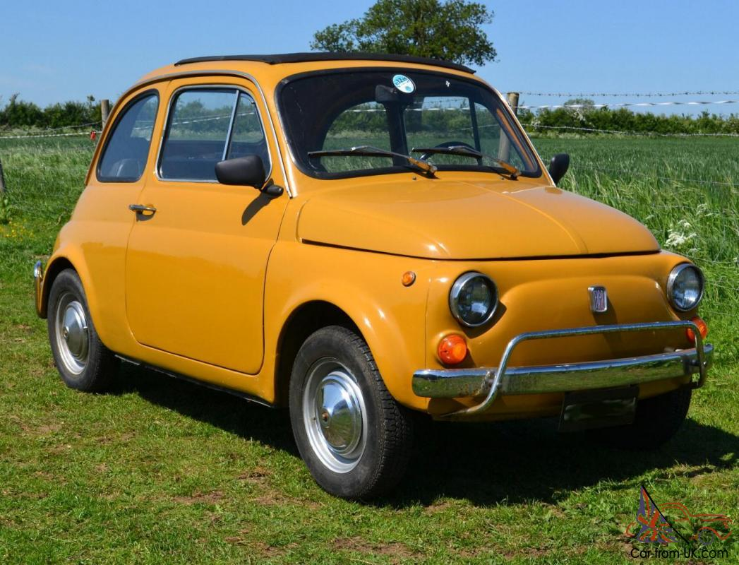 1970 fiat 500 owners manual
