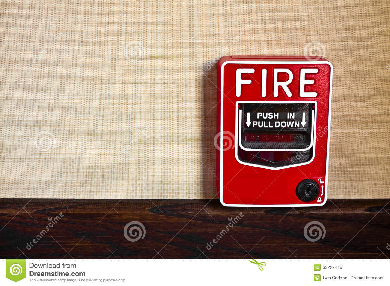 2 stage manual fire alarm box