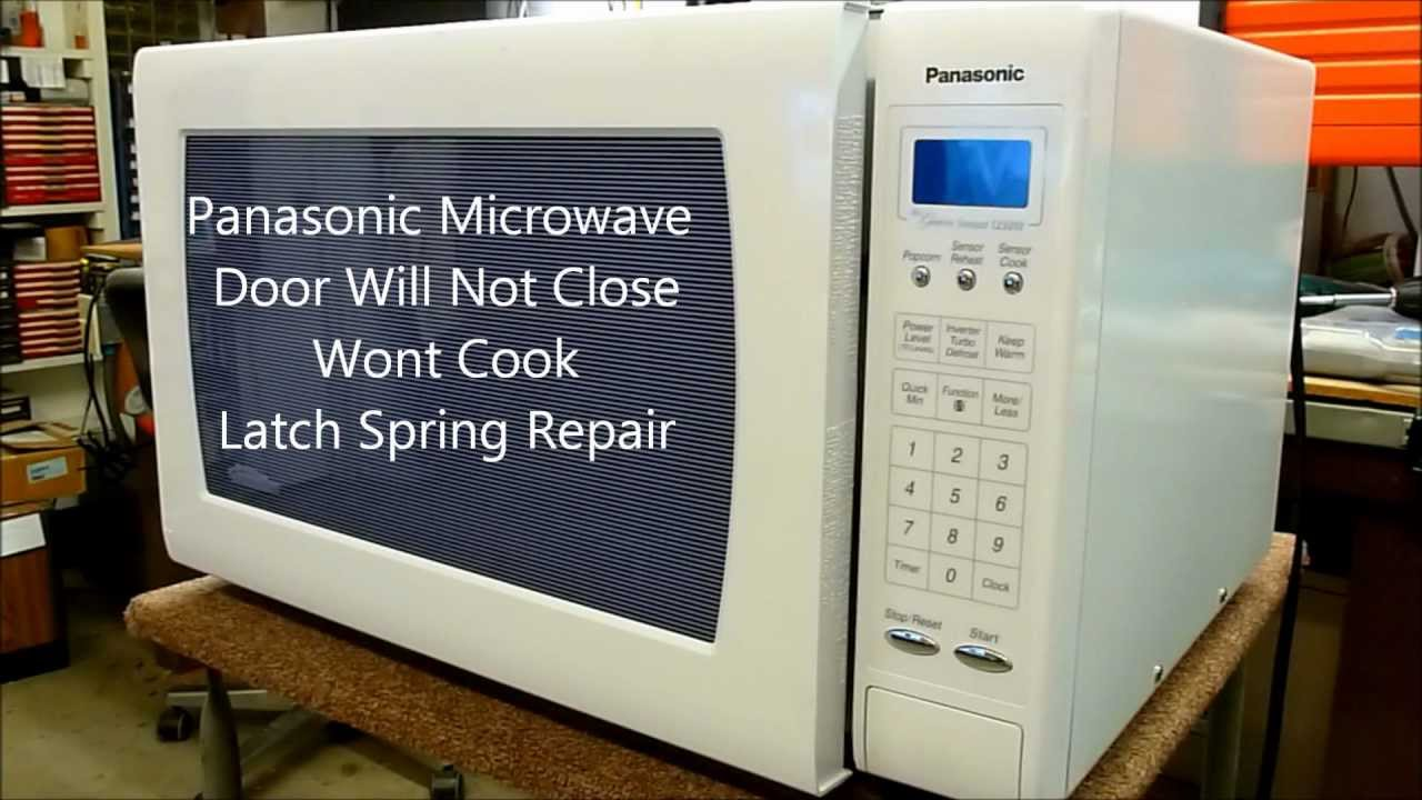 panasonic microwave oven service manual