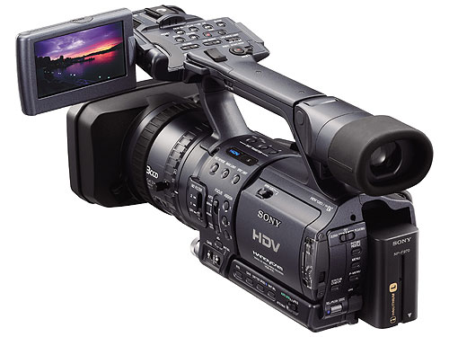 sony hdr fx1 user manual
