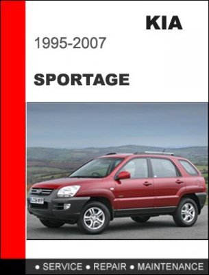 1996 kia sportage owners manual