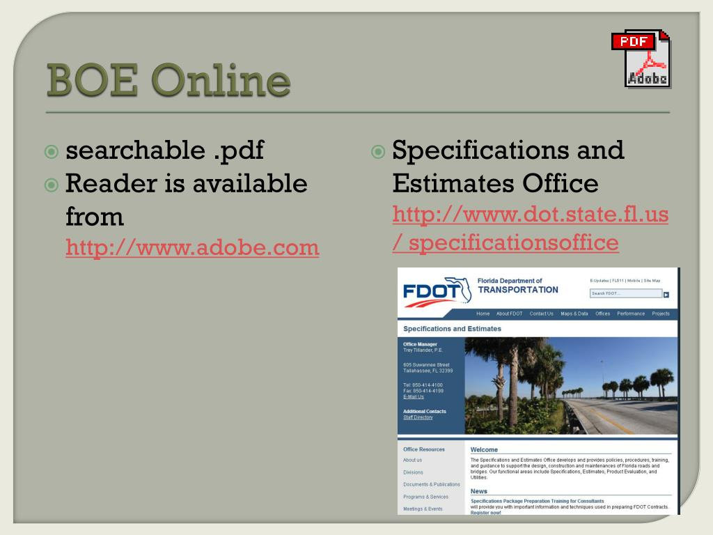 fdot volume 1 chapter 2 of the plans preparation manual