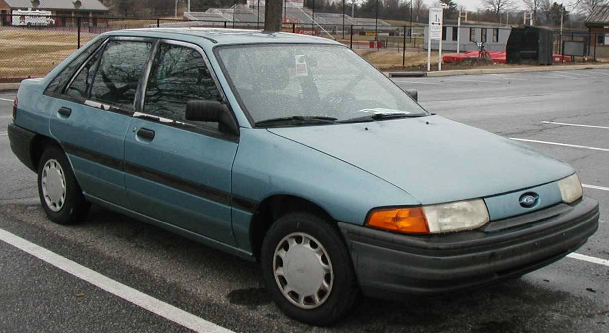 1994 ford escort lx owners manual