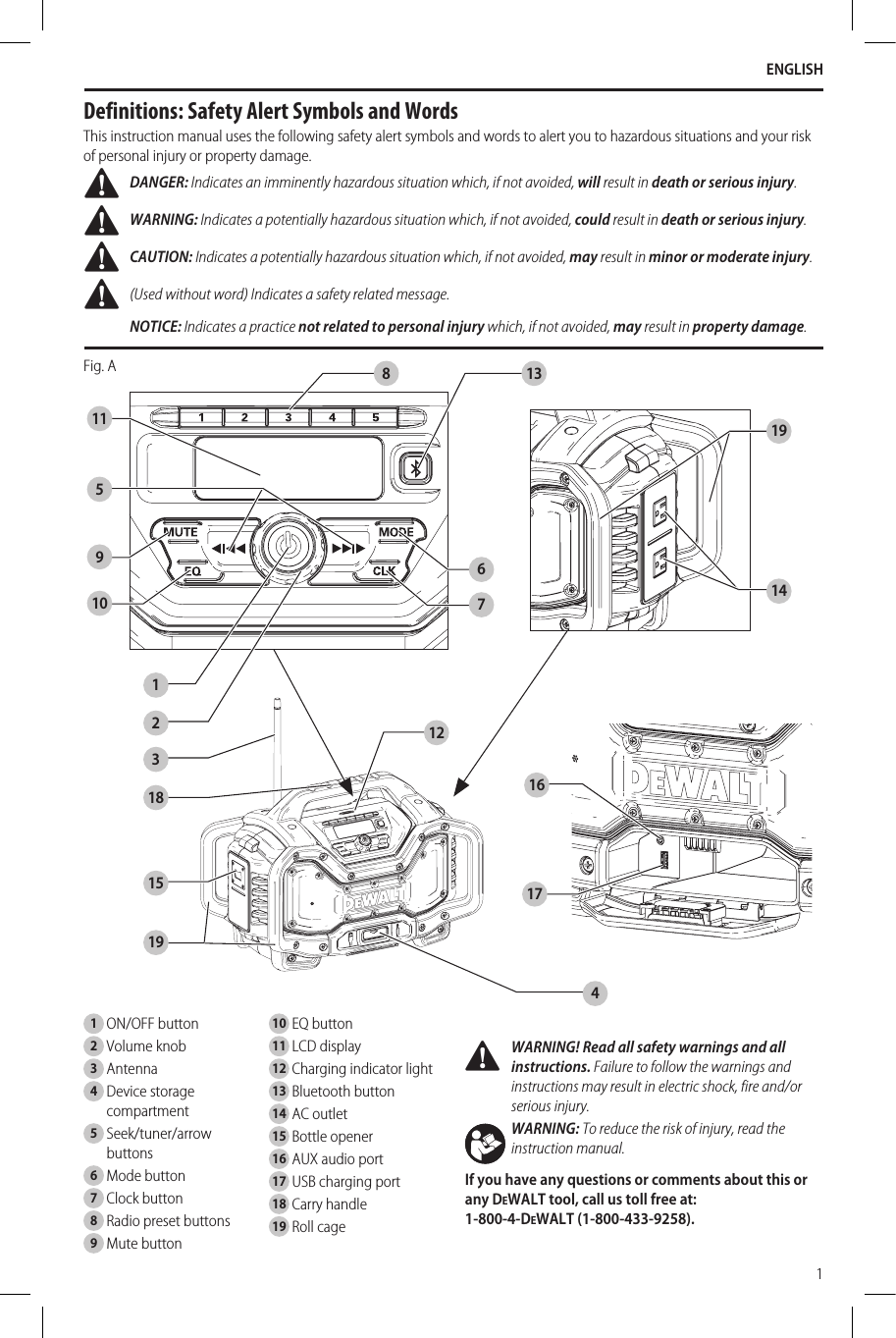 stanley 15 amp battery charger user manual