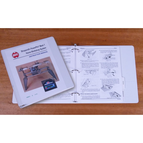 shopsmith mark v owners manual