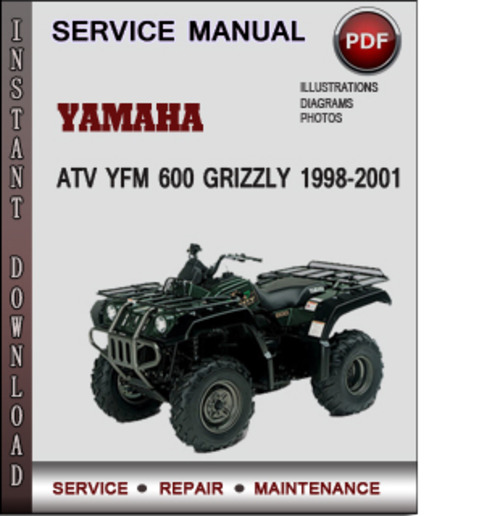 yamaha grizzly 600 owners manual